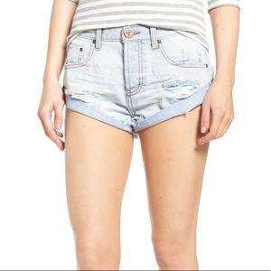 NWT   one x oneteaspoon   bandit denim shorts